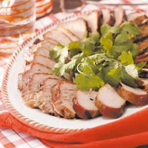 Cilantro Pork Tenderloin Recipe