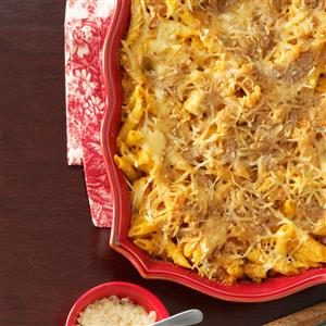 Buffalo Chicken Pasta Bake Recipe
