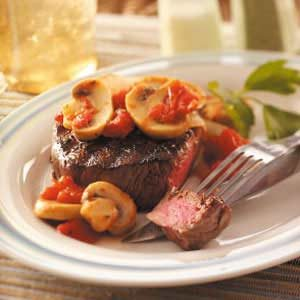 Filets with Mushroom Sauce