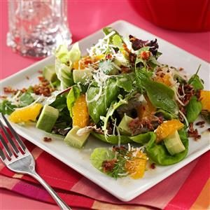 Avocado Tangerine Salad