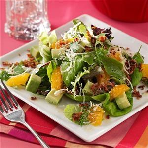 Avocado Tangerine Salad Recipe