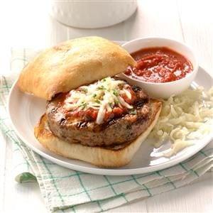 Ciabatta Turkey Burgers Recipe