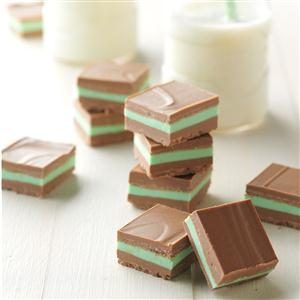 Layered Mint Candies Recipe