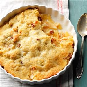 Macaroon Apple Cobbler Recipe