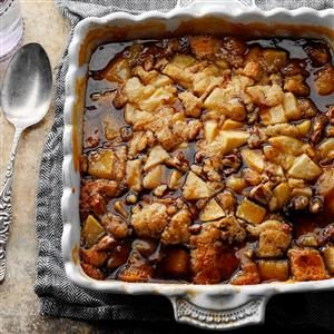Caramel Pear Pudding Recipe