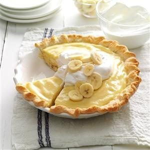 Banana Cream Pie Recipe