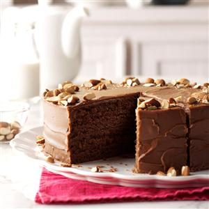 Spiced Devil's Food Cake Recipe