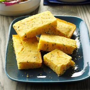 Chive-Cheese Corn Bread