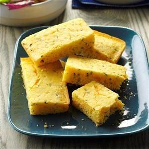 Chive-Cheese Corn Bread Recipe
