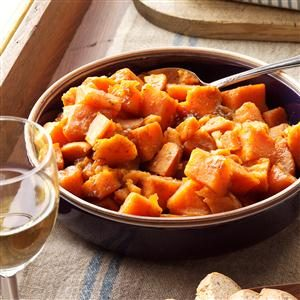Caramel Sweet Potatoes Recipe