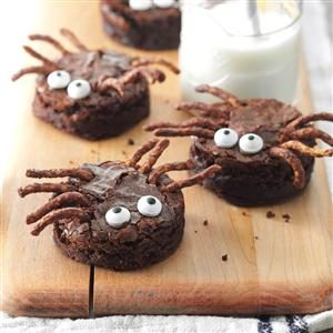 Brownie Spiders Recipe