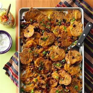 Gourd-geous Halloween Nachos Recipe