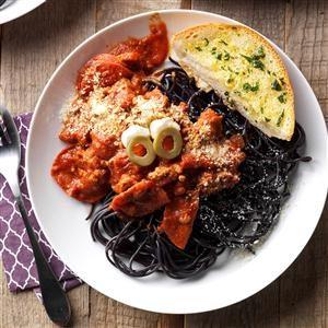 Spirited Spaghetti Recipe