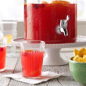 Festive Cranberry Drink Recipe
