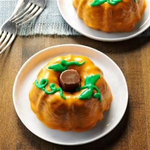 Mini Pumpkin Cakes Recipe