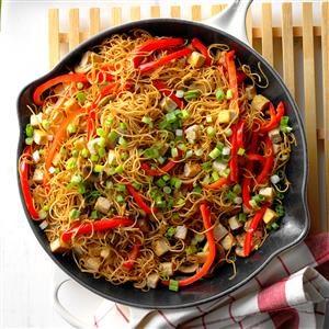 Tofu Chow Mein Recipe