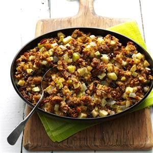 Raisin-Studded Apple Stuffing