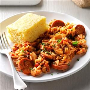 Johnsonville® 1-2-3 Jambalaya Recipe