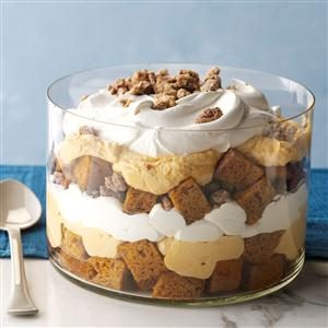 Pumpkin Mousse Trifle Recipe