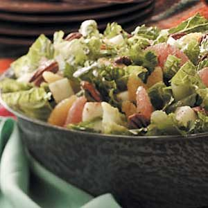 Crisp Citrus Tossed Salad Recipe