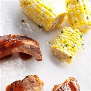 Herbed Grilled Corn on the Cob Recipe
