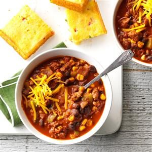 Black Bean Turkey Chili Recipe