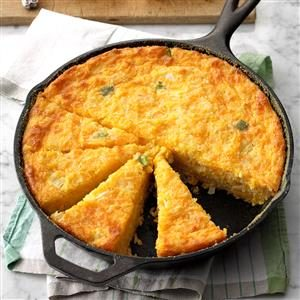 Creole Corn Bread Recipe