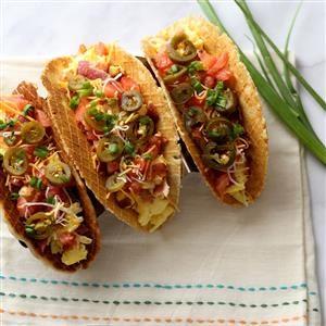Taco Waffles Recipe