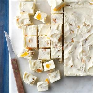 Apricot-Nut White Fudge Recipe