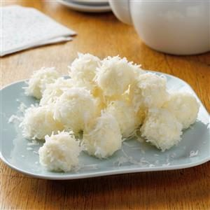 Creamy Coconut Snowballs Recipe
