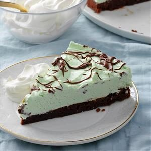 Mint Brownie Pie Recipe