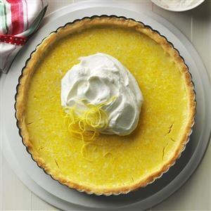 Tart & Tangy Lemon Tart Recipe