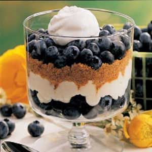 Blueberry Graham Dessert