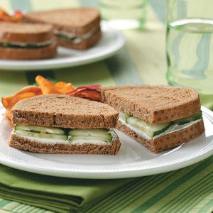 Cucumber Sandwiches Recipe