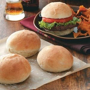 40-Minute Hamburger Buns Recipe