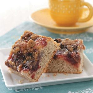 Cranberry Banana Coffee Cake