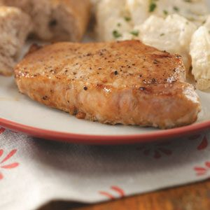 Savory Beer Pork Chops Recipe