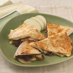 Apple Brie Quesadillas Recipe