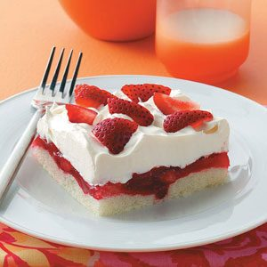 Strawberry Ladyfinger Dessert