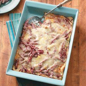 Corned Beef 'n' Cheese Strata Recipe