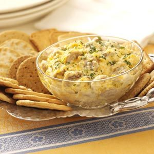 Hot Cheddar-Mushroom Spread Recipe