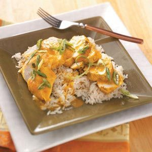 Slow-Cooked Curry Chicken