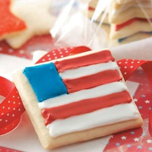 Sugar Star & Flag Cookies Recipe