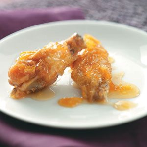 Marmalade-Glazed Chicken Wings