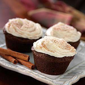 Frosted Gingerbread Muffins