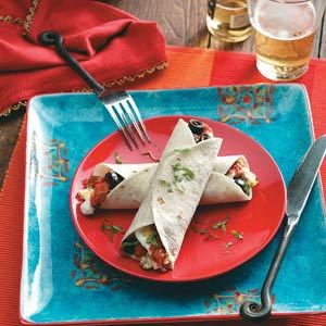 Quick Breakfast Burritos Recipe