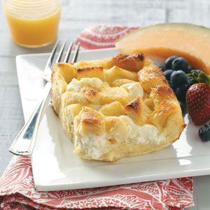 Breakfast Bread Pudding Recipe | Taste of Home