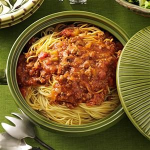 Family-Favorite Spaghetti Sauce Recipe