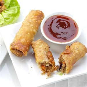 Family-Favorite Turkey Egg Rolls Recipe