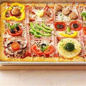 Family Quilt Pizza Recipe